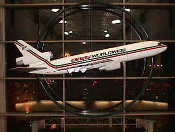 Emery Worldwide DC-10 Professional Aircraft Model
