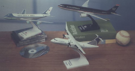 Skymarks Models Airplanes, Commercial Airliners, Snap-Fit Models